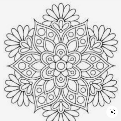 Cara Menggambar Batik Dibuku Gambar Yang Mudah-3